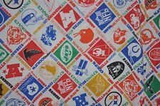 NFL vintage FLAT BED SHEET 1970s NFL Football