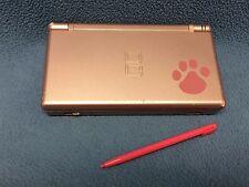 *Working* Nintendogs Nintendo DS Lite Metallic Rose Pink System Console Handheld
