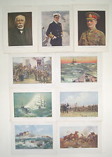 23 x First World War Colour Prints from The Great War Magazine Parts 197-265