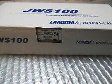 NEW! LAMBDA POWER SUPPLY JWS100-28/A JWS10028A INPUT 100-28/A VAC 50/60 HZ