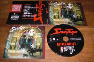 Savatage - Gutter Ballet Digipak & Bonus Tracks