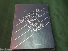 1984 BANGOR JR. HIGH YEARBOOK MICHIGAN BAY COUNTY MICHIGAN (#90)