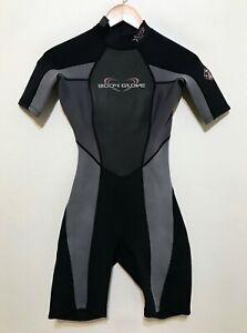 Body Glove Womens Spring Shorty Wetsuit Size 5-6 Aura 2/1
