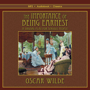 The Importance of Being Earnest - Unabridged MP3 CD Audiobook in CD jacket