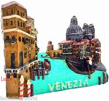 Europe Venice Gondola Italy Italian Canals 3D Fridge Magnet Holiday Souvenir NEW