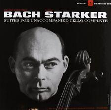 Janos Starker - Bach-6 Solo Cello Suites [New Vinyl LP]