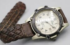 2001 - Timex Expedition Indiglo Metal Case Men's Wrist Watch - Needs Strap