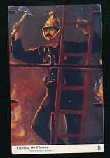 FIRE FIGHTING The People's Hero Used 1904 Tuck Oilette #6459 PPC