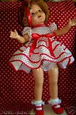 HANDMADE DRESS SET FOR SHIRLEY TEMPLE STAND UP & CHEER SIZES FOR ANY DOLL