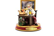 Thomas Kinkade Light Up Holidays Santa Claus Figurine The Gift of Christmas