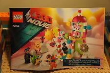 LEGO 70803 The Movie CLOUD CUCKOO PALACE Instruction Booklet Unikitty Emmett Etc