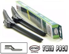 "VW PASSAT B6 2005-2011 aeroflat windscreen WIPER BLADES 24''19"" TWIN PACK"