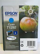 EPSON ORIGINAL T1292 CYAN (BLUE) APPLE INK CARTRIDGE