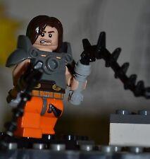 Custom 100% Genuine LEGO Marvel Iron-Man Whiplash Superheroes Civil War Avengers