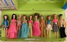 New ListingTopper Dawn Doll Lot And Wardrobe/Carry Case