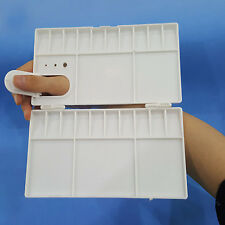 Newest 25 Grids Large Art Paint Tray Artist Oil Watercolor White Plastic Palette