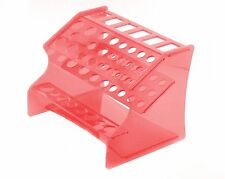 XTREME RACING ACRYLIC TOOL CADDY STAND RED XTR1850R TRAXXAS LOSI RTR MUGEN RACE