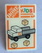 The Home Depot Kids Workshop Truck Pin Badge Kids Collectable (E8)