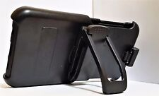 Platinum Holster Case with Kickstand for Samsung Galaxy S6 Edge + *Plus* -Black