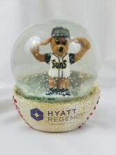 Jacksonville Suns Snowglobe Giveaway Collectible Southpaw K-9 RARE! 4""