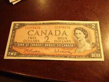 BIRTH YEAR - 1954 Canadian $2 bill - OU1978479 - two dollar note Canada - 1978