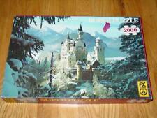FX Schmid : Winter Wonderland - 2000pc Super Puzzle - No. 98520 - Pre 1989