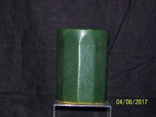 c1900 Arts & Crafts Mission Style Zanesville#203 Cucumber Glaze Art Pottery Vase