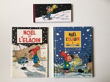 NOEL ET L'ELAOIN RETROUVAILLES CRONTCH 1 2 3 - FRANQUIN - EO - YANN RUDLER BD