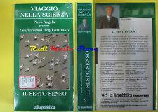 VHS IL SESTO SENSO Viaggio nella scienza PIERO ANGELA SIGILLATA (F67) no dvd