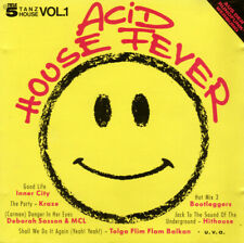 "Various - ACID HOUSE FEVER - CD © 1988>12""Mixes>Hithouse,Inner City,D.Sasson"