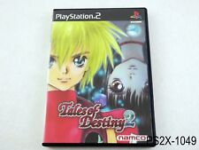Tales of Destiny 2 Playstation 2 Japanese Import Japan NTSC-J PS2 US Seller