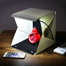 Take Photo At Home Mini Studio LED Folding Softboxes Photography Tool Box White