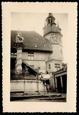 YZ0008 Switzerland - Fribourg - Military Court - Foto d'epoca - 1952 old photo