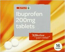 Ibupofen Tablets Pain Relief Tablets | Pack of 16 | MAX 2 Packs/Order SPAR Brand