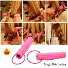 6pcs DIY Magic Hair Curlers Rollers Clip Clamp Hairdressing Hair Styling Tool HA