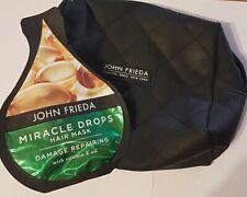 John Freida Miracle Drops Hair Mask  25ml & Branded Cosmetic Wash Bag