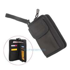 Tactical Military 600D Cordura Wallet Card Hand Bag Outdoor Phone Pouch Black