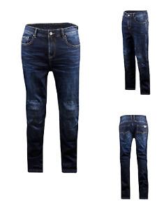 LS2 Vision EVO Man Motorcycle Motorbike jeans Blue