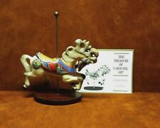 Franklin Mint ~ The Treasury Of Carousel Art ~ Jumper Horse ~ Free Shipping