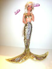 BARBIE MATTEL 1991 JEWEL HAIR MERMAID doll sirena, sirenetta bambola doll poupeè