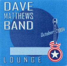 Dave Matthews Band 2004 Concert Tour Backstage Pass! Authentic Original Otto #2
