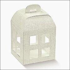 Scatola Confezione Regalo Lanterna Bomboniera Matrimonio 20x20x25 cm