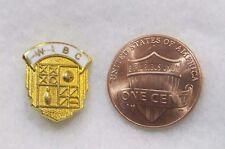 Vintage WIBC Bowling Womens Ball Pins Lapel Pin Pinback