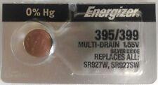 Energizer 395/399 (SR57 SR927SW AG7 LR927 GP395 V395 D395) Button Cell Battery