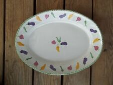 Vintage Mesa International Oval Chili Pepper Platter Hungary Handcrafted Plate