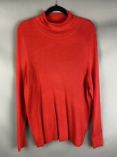 M/&S /'StayNew/' Cotton Rich Roll Neck L//S Top 6 20 22 24 Blue Green Navy Pink BNWT