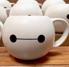 DISNEY PARKS 32 oz COFFEE MUG CUP BAYMAX NURSE WHITE BIG HERO 6 CERAMIC TEA NEW