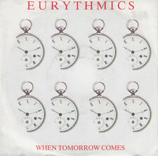 "Eurythmics 7"" When Tomorrow Comes - Europe"
