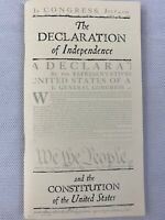 The Declaration Of Independence Constitution Of United States Book VA P6A