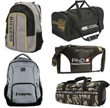 Gym Sports & Travel Holdalls, Barrel Bags, Shoulder Bags, Bumbags and Backpacks